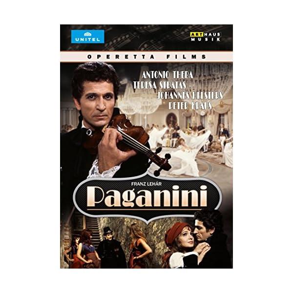 Lehar: Paganini [DVD]の商品画像
