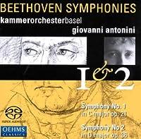 ベートーヴェン:交響曲第1番, 第2番