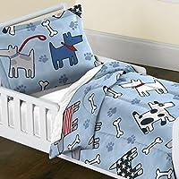 夢工場犬夢布団セット、幼児、ブルー