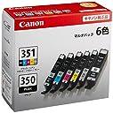 Canon 純正 インク カートリッジ BCI-351(BK/C/M/Y/GY) BCI-350 6色マルチパック BCI-351 350/6MP