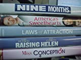 Nine Months , America's Sweethearts, Laws of Attraction, Raising Helen , Miss Conception : Romantic Comedy 5 Pack