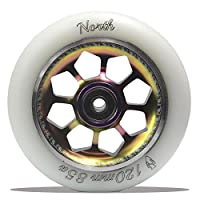 北スクーターPentagon Oil Slick 85A Wheel
