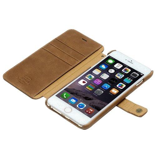 【日本正規代理店品】Zenus iPhone 6s Plus/6 Plus レザーケース イタリアン本革 Vintage Diary ビンテージブラウン ダイアリータイプ Z4686i6P