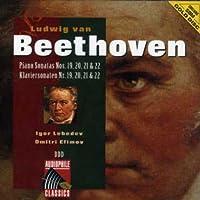 Piano Sonatas No. 19-22