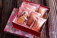 ル シャトン ケーキ屋さんのいちごフィナンシェ&いちごクッキーセット(いちごフィナンシェ(1個/袋)×3袋、いちごクッキー(1個/袋)×3袋)計6袋入