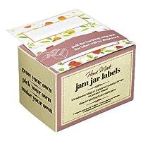 Kitchen Craft Preserve Jar Labels, Roll of One Hundred, (Pack of 2)