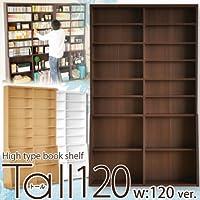 ブックシェルフTall 120 (ナチュラル)