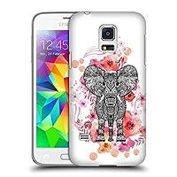オフィシャル Monika Strigel エレファント・アズテック アニマル&フラワーズ Samsung Galaxy S5 mini 専用ハードバックケース