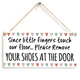 Best 友達Sinces - Since little指タッチOur床。。。Please Remove Your Shoes at the Door – スーパーキュートなデザインWelcome Review
