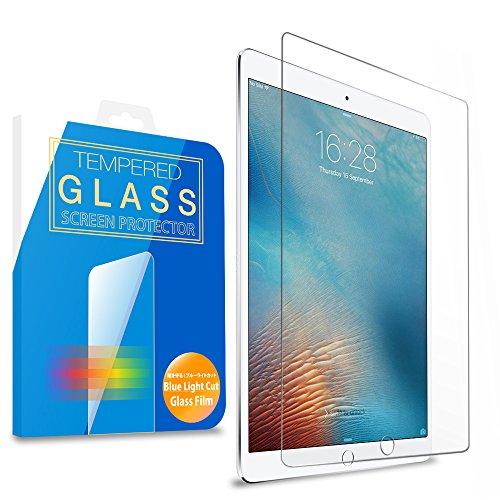 MS factory iPad Pro 10.5 フィルム ガラス ブルーライト カット 90% 強化ガラス 保護フィルム iPadPro ガラスフィルム アイパッド プロ 90日 保証 FD-IPDP10-BLUE-AB