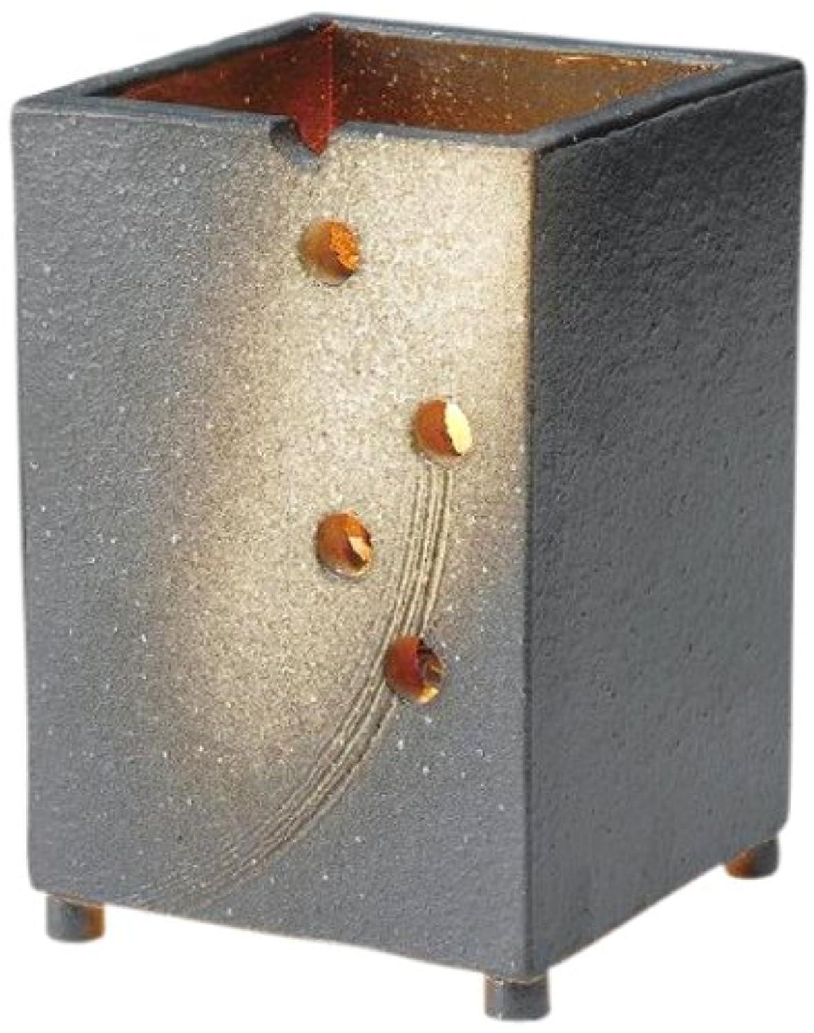 海峡ひも油声を出してヤマ庄陶器 信楽焼 インテリアライト 星空(あかり) GB3-10-04