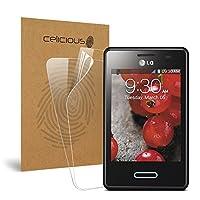 Celicious Vivid LG Optimus L3 II E430用の目に見えないスクリーンプロテクター [2枚入り]