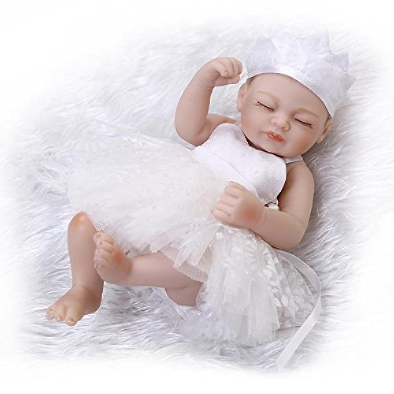 NPK 10インチSleeping Rebornベビー人形FullビニールボディソフトシリコンReal Life Like新生児Dolls that Look Real