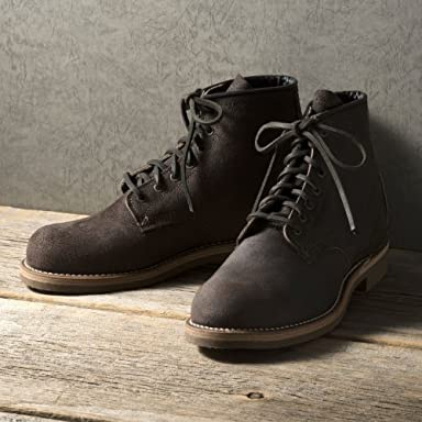 Red Wing + Nigel Cabourn The Munson Boot: Chocolate
