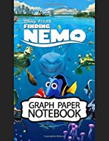 Notebook: Finding Nemo Adventure Fans Cheerful Clownfish Funny Swimming Ocean Life, Graph Paper Girls Kids Elementary School Paper 8.5 x 11 Inches 110 Pages