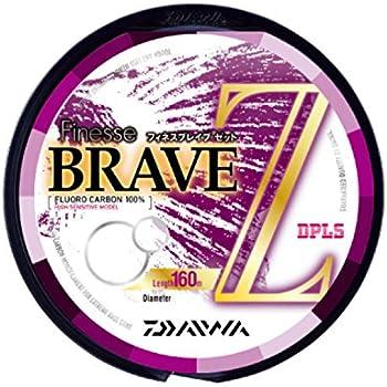 ダイワ(Daiwa) フロロカーボンライン フィネス ブレイブ Z 160m 8lb クリアー