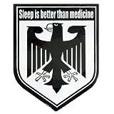 コトワザステッカー《睡眠は薬にまさる/Sleep is better than medicin...