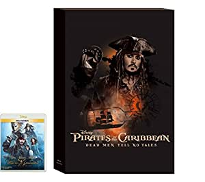 【Amazon.co.jp限定】 パイレーツ・オブ・カリビアン/最後の海賊 MovieNEX キャンバスパネル付 [Blu-ray]