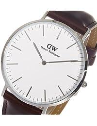ダニエル ウェリントン ブリストル/シルバー 40mm クオーツ 腕時計 0209DW (DW00100023) 腕時計 海外インポート品 ダニエルウェリントン mirai1-505156-ah [並行輸入品] [簡素パッケージ品]