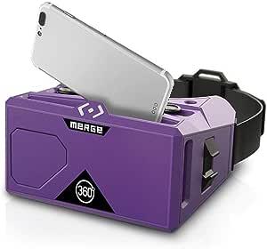 Merge VR バーチャル・リアリティ ヘッドセット (iPhone/Android用)