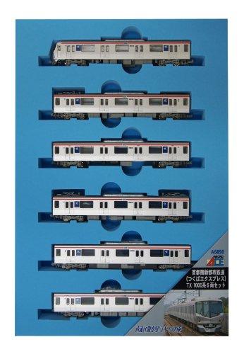 Nゲージ A6890 首都圏新都市鉄道 (つくばエキスプレス) TX-1000系 6両セット
