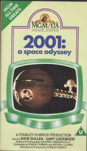 2001: A Space Odyssey [VHS] [Import]