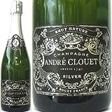 [Andre Clouet ] アンドレ・クルエ、シルバー・ブリュット NV ナチューレ (白・泡) 750ml/ラベル変更
