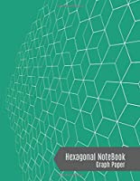 Hexagonal Graph Notebook: Hexagons Composition Notebook (Emerald Green Cover) - Small Hexagonal Graph Paper, 100 Pages 1/4 inch, 8.5 x 11 Inches - Lab Chemistry, Biochemistry Journal, Organic Chemistry and Notebook for Science.
