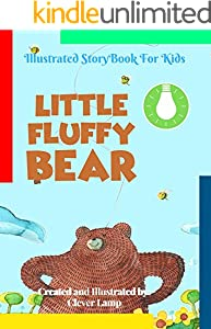 Little Fluffy Bear: Before Bed Children's Book- Cute story - Easy reading Illustrations -Cute Educational Adventure . (English Edition)
