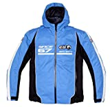 エルフ(ELF) ジャケット Hooded(フーデッド) ナイロンブルゾン レッド M EL-6247