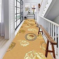 CAIJUN 廊下のカーペット ランナー ラグ 多目的 耐湿性 ノンスリップ 掃除が簡単 柔らかくて快適 厚さ6mm カスタムサイズ (サイズ さいず : 1.1x10m)