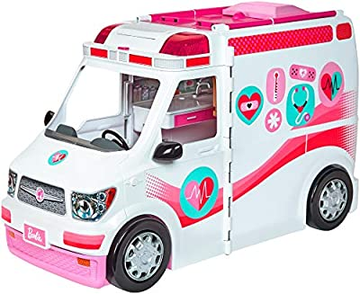 Barbie Care Clinic Van, Large Rescue Vehicle