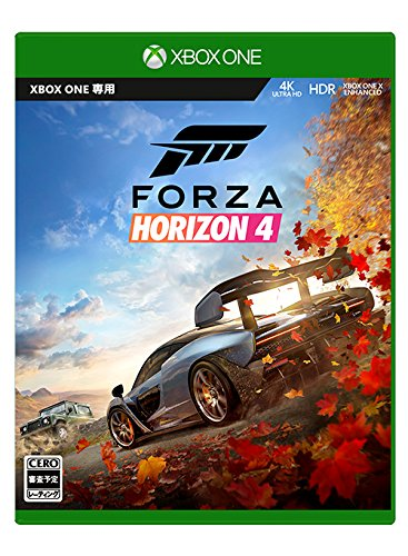 Forza Horizon 4 - XboxOne (【Amazon.co.jp限定特典】Porsche 911 GT3RS (2016) ダウンロード コード 配信 同梱)