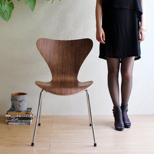 RoomClip商品情報 - 【完成品でお届け】SEVEN CHAIR セブンチェア(ウォールナット)         【デザイナー:アルネ・ヤコブセン】【フリッツハンセン】【ダイニングチェア】【椅子】【木製】【高品質】【低価格】【リプロダクト・ジェネリック・復刻版】