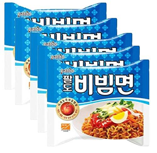 八道 パルド ビビン麺 5袋入り ビビン