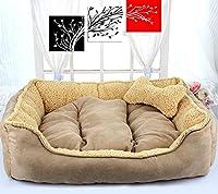 ペット用品 犬の骨のパターン大きな柔らかい暖かい犬小屋ペット犬猫のマット毛布 家庭用ペット 洗える 四季用ベッド
