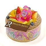 キャラデコお祝いケーキ スター☆トゥインクルプリキュア 5号 15cm チョコクリームショートケーキ