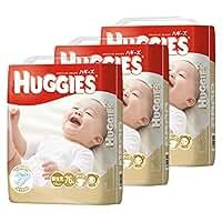 HUGGIES(ハギーズ) テープ新生児 男女共用 (~4.5kgまで) 76枚x3(228枚)