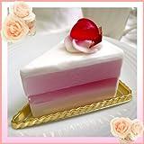 「コスメパティシエ・アラモ」ケーキ石鹸 1 イチゴ(受注生産品)