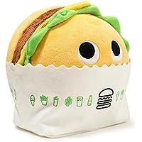 "Shackバーガー[ Shake Shack Exclusive ] : ~ 8"" Kidrobot Yummy World Plush + 1公式Yummy mini-item Goodieバンドル"