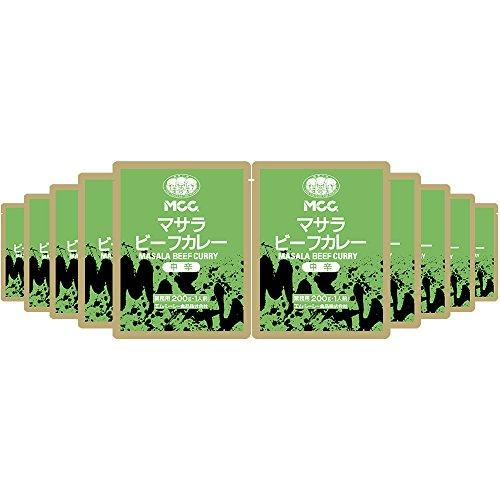 MCC マサラビーフカレー <中辛> 200g×10個