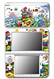 「Super Mario 3D World 2 Land Mario Luigi Peach Toad Cat Suit Video Game Vinyl Decal Skin Sticker Cover for Original Nintendo 3DS XL System by Vinyl Skin Designs [並行輸入品]」の画像