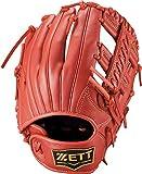 ゼット(ZETT) 少年軟式野球 グラブ グランドヒーロー オールラウンド用 右投げ用 サイズ:M(身長130~145cm向け) レッド(6400) BJGB76130