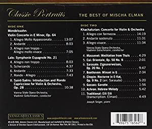 VARIOUS:THE BEST OF MISCHA ELMAN
