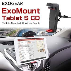 ExoMount Tablet S CD 車載 CDスロット差込型 タブレット (5.5~8インチ) ホルダー ブラック FM5575