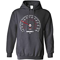 Speedometer Unisex Hoodie 40th Birthday Car Race Track Speed