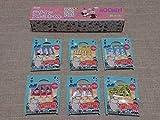 ムーミン×十六茶 オリジナルデザインアルミホイル&フラッグピックス全6種類コンプリート ミイ&ミムラ姉さん姉妹 非売品 デコ弁