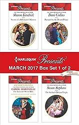 Harlequin Presents March 2017 - Box Set 1 of 2: Secrets of a Billionaire's Mistress\The Innocent's Secret Baby\Pursued by the Desert Prince\The Sicilian's Defiant Virgin
