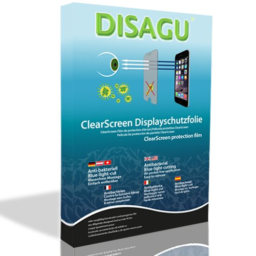 2 x DISAGU ClearScreen画面保護フィルムfor Dell Axim x3 x5 x30 x50抗菌、Bluelightフィルタ保護フィルム