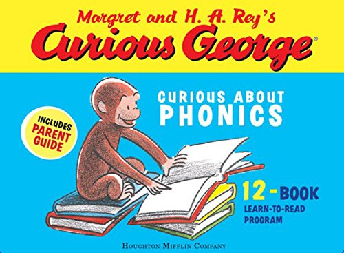 Curious George Curious About Phonics 12-Book Setの詳細を見る